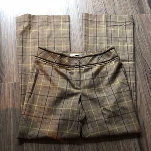 Classiques entier wool Checks Plaid dress Pants